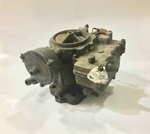 1958 Chevrolet Oldsmobile Pontiac Tri power Center Carburetor