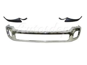 Front Bumper Chrome Face Bar Outer Molding For Super Duty F450 F550 2011 2016