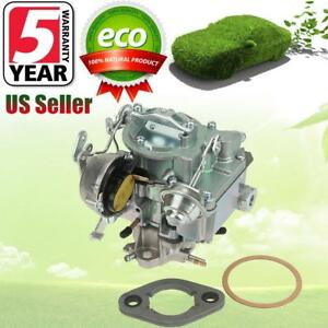 Carburetor 1 Bbl Rochester For Chevy Gmc L6 250 292 With Choke Thermostat Us