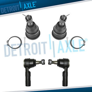 Front Upper Ball Joints Outer Tierods 2006 2010 2011 2012 Dodge Ram 1500 Rwd