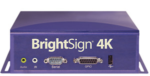 Brightsign 4k 4k1142 ww Digital Signage Display Media Player