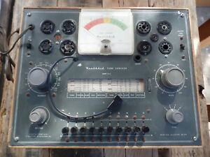 Heathkit Tc 2 Vacuum Tube Tester Working And Tested