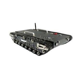 30kg Load Wt 500s Smart Rc Tracked Tank Rc Robot Car Chassis Shock absorbing