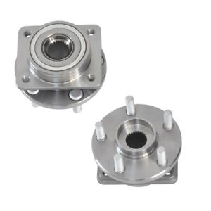 Front Wheel Hubs Bearings For Chrysler Town Country 14 Wheels Only Set