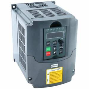 2 2kw 220v 3hp Vfd Variable Frequency Drive Inverter Converter New Speed Control
