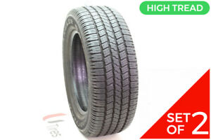 Set Of 2 Used 265 60r18 Goodyear Wrangler Sr a 109t 10 11 32