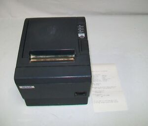 Epson Tm t88iii Point Of Sale Thermal Printer Model M129c