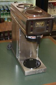 Bunn Automatic Coffee Brewer Commercial 115 Volt Good Working Brewer