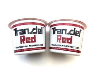Two Tubs Of Transjel Red Transmission Assembly Lube