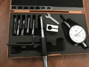 Mitutoyo 526 122 Dial Bore Gauge For Extra Small Holes 0 3 0 4