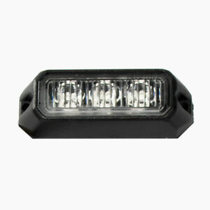 Race Sport 3 led Amber Ip68 Surface Mount Strobe