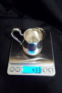 Frank M Whiting Sterling Silver Pitcher Creamer M 1900 43 3g Ships Free Pretty