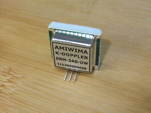 Microwave Doppler Transceiver 24 Ghz K band Wide Beam Polarization Rhcp Circular