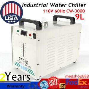 110v 60hz Cw 3000 Industrial Water Chiller For One 60w 80w Co2 Glass Laser