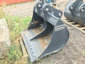 New Geith Doosan 60 Ditching Bucket To Fit 300 Size Excavator 90 Mm Pins