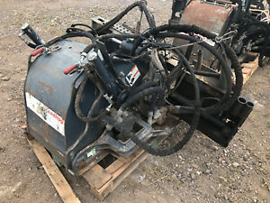 18 Road Hog Skid Steer Bobcat Planer Attachment Zanetis Bobcat Cat Alitec Case