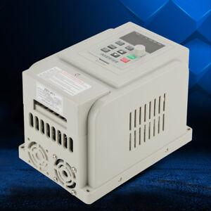 2hp 1 5kw Single Phase To 3 three Phase Output Frequency Converter Vfd Vsd 220v