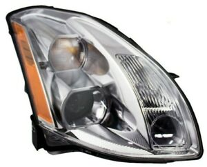 New Depo Head Light For 2005 2006 Maxima Passenger Side 26010za80a Ni2503183