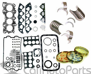 Acura Integra Gsr Type r 1 8 B18c1 B18c5 Engine Rebuild Re ring Kit graphite