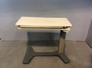 Hill rom Pmjr Overbed Table Medical Healthcare Hospital Furniture