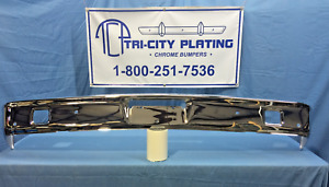 1963 63 Ford Fairlane Front Bumper show Quality Chrome