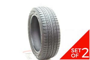 Set Of 2 Used P 245 50r20 Pirelli Scorpion Str 102h 7 5 8 5 32