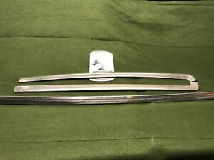 1978 1987 Chevy Malibu Classic 3 Piece Windshield Trim Set 2 Cutlass G Body 442