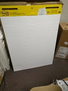 6 Pack Easel Pad plain White 25 In X 30 In Post it 559