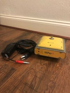 Topcon Gps Model Hiper Plus Base With Charger Gps Glonass Enabled