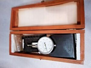 Tenon Pitch Dial Indicator Mueller Gage Jig 242329 With Box And Docs