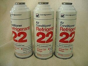 R22 Freon Refrigerant 15oz Can Air Cond Window Units Freezers Refrigerator