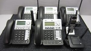 At t Synj 4 line Expandable Business Phone System 1 sb67138 4 sb67148 1 sb67108