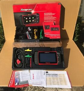 Snap On Modis Ultra Touch Scanner Scope 2018 Version Euro Asian Dom Eems328