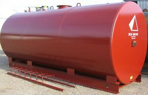 6 000 Gallon Ul 142 Aboveground Double Wall Fuel Storage Tank