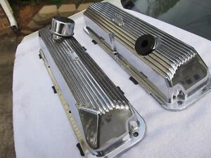 New 1969 Ford Mustang 428 Cobra Jet Valve Covers
