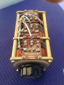 Triple 3 Phase Technipower Variac Type M5 Good Condition