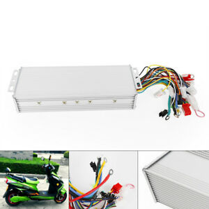 48 72v 1 5 Kw Electric Bicycle E bike Scooter Brushless Dc Motor Controller New