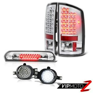 Brake Taillight Led Bumper Smd Foglamp High Stop Chrome 2007 2008 Dodge Ram 2500