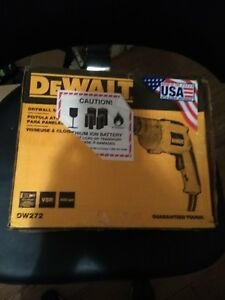 Dewalt Dw272 Vsr Drywall Screwgun 6 3 Amp 0 4 000 Rpm new