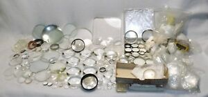 Huge Lot 285 Glass Lenses Optic Laser Plano Convex Concave Coated Uncoated Thick