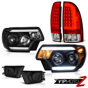 12 15 Toyota Tacoma Rosso Red Rear Smokey Foglamps Headlights Cyclop Optic Cool
