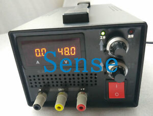 Ac100 120v To 0 250vdc 0 4 8a 1200w Output Adjustable Switching Power Supply