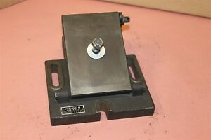Weldon 200 Series Airbar Airflow Sharpening Fixture Titling Sub Base