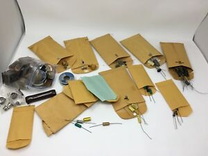 Resistors Capacitors Diodes Mixed Large Lot Estate Sale Find Semiconductor