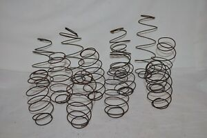Lot Of 12 Vintage Rusty Bed Springs Nodders Country Art Crafts Shabby Repurpose