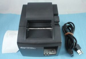 Star Tsp100 Futurprnt Black Usb Thermal Pos Receipt Printer Tear Bar