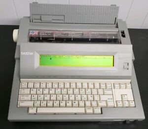 Brother Wp 760d Electronic Word Processor Typewriter Tested