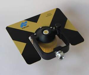 New Yellow Metal Single Prism For Topcon sokkia nikon pentax Total Stations