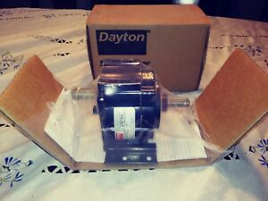 Dayton 2z819a Speed Reducer Motor Brand New Nos