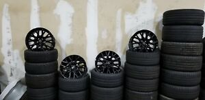 19 Lexus Rc 350 F Sport Wheels Gloss Black Oem